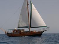 Voyage Gulet turque de bateau a voile de paradis